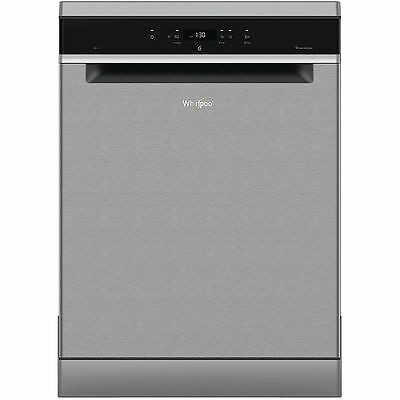 View Details Whirlpool WFC3C24PXUK Full Size S/S Freestanding 14 Place Settings Dishwasher • 399.00£