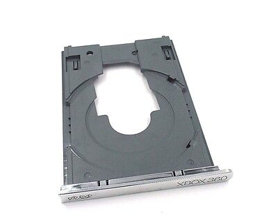 XBOX 360  Replacement HD Disk DVD Drive Tray (Gray) With Metallic Bezel • 17.99$