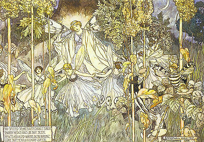 Midsummer Nights Dream By Stephen Reid Repro Print Poster Picture Image Art A4 • 3.99£