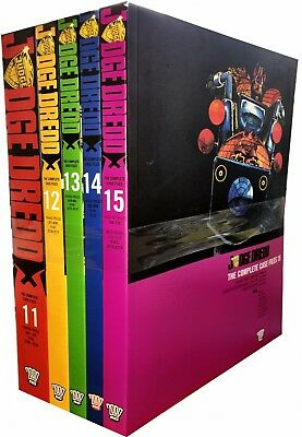 Judge Dredd: Complete Case Files Volume 11-15 Collection 5 Books Set (Series 3)  • 65.89£