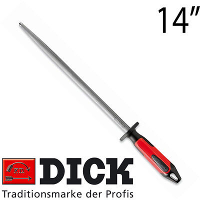 AU73.50 • Buy F DICK Round Regular Cut Butcher Knife Sharpening Steel 14  35cm With 2K Handle