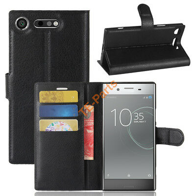 AU10.30 • Buy For Sony Xperia XZ1 / XZ1 Compact Wallet Flip PU Leather TPU Case Stand Cover
