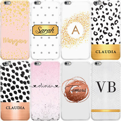 Dyefor With Custom Names & Initials Hard Phone Case Cover For Apple Iphone • 5.95£