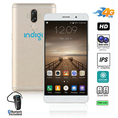 AU331.78 • Buy 4G LTE 6inch Android 7 Smartphone (GSM Unlocked + Octa-Core @ 1.3ghz)