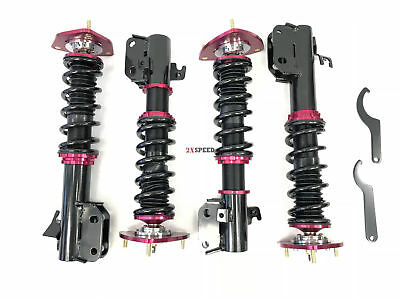 $399.99 • Buy 02- 07 Subbie Impreza WRX (only) GDA Coilover Suspension Kit Lower Springs Red