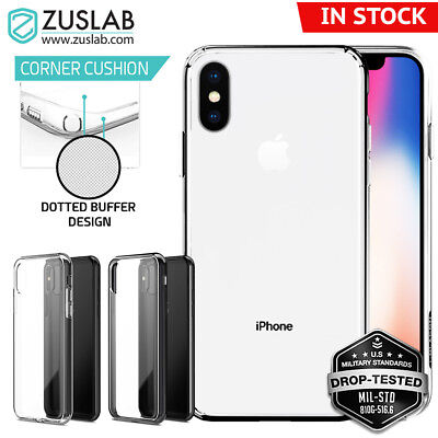 AU8.99 • Buy For IPhone X XS Case ZUSLAB Shockproof Slim Hybrid Ultra Clear Cover