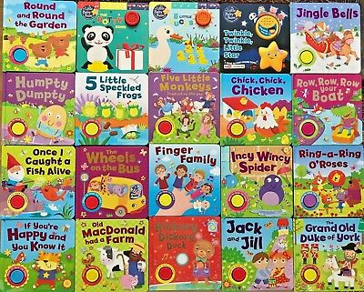 Baby/kids Sound Books Collection Famous Nursery Rhymes NEW!!!!!  • 5.99£