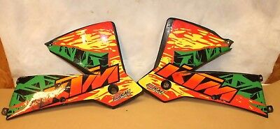 $45 • Buy 2003 Ktm 250 Sx   Left & Right Tank Covers With Graphics