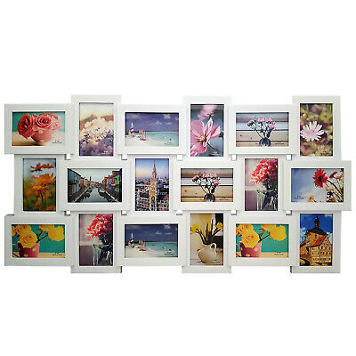 £16.76 • Buy Large 18 Multi Photo Frame Love Family Friends Collage Home Wall Picture Album