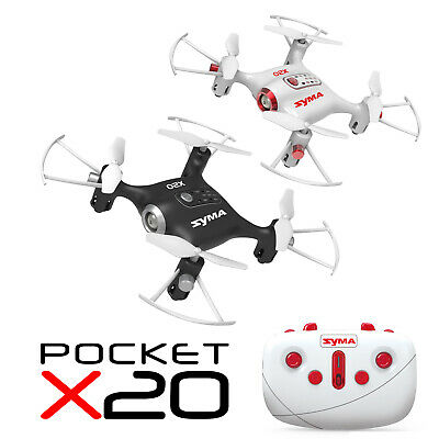$18.98 • Buy SYMA X20 Mini RC Quadcopter Pocket Drone 2.4Ghz 4CH Altitude Hold Headless Mode