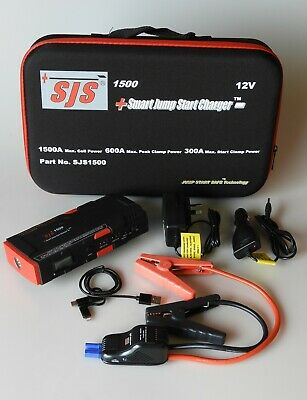 AU249 • Buy Sjs1500 Smart Start Charger 1500ma 600amp Jump Starter Technology Power Bank Rep