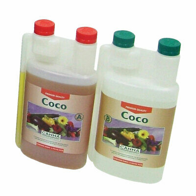 £15.95 • Buy 2L Canna Coco (2 Part 1L A + 1LB) Nutrients - Coco/Coir Plant Base Feed/Food