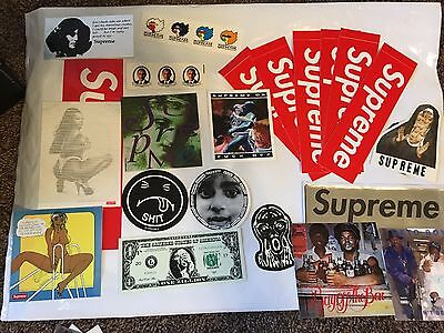 $ CDN100.26 • Buy Supreme Sticker Lot Total 21 Items