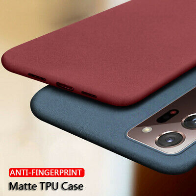 AU3.82 • Buy Sandstone Thin Matte Soft Case TPU Cover For Samsung Galaxy OnePlus For IPhone