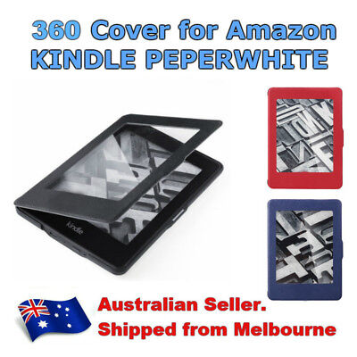 AU15.50 • Buy Kindle Paperwhite Slim Leather Magnetic Smart Case Cover Screen 360 Generation