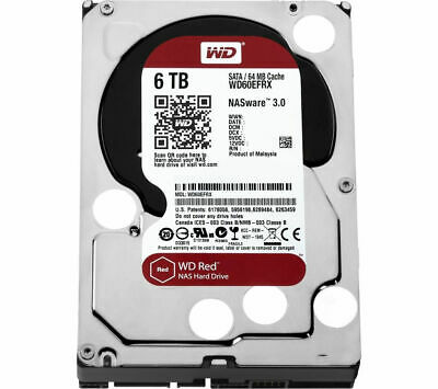 """View Details WD Red 3.5"""" Internal Hard Drive - 6 TB - Currys • 199.00£"""