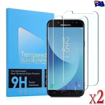 AU3.94 • Buy 2 PACK Tempered Glass Screen Protector For Samsung Galaxy J2 J3 J5 J7 Pro J8 A8