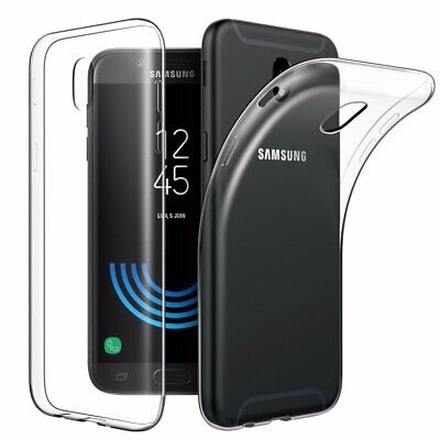 AU4.99 • Buy Soft Gel Clear Transparent Case Cover For Samsung Galaxy J3 Pro J5 J7 Pro 2017