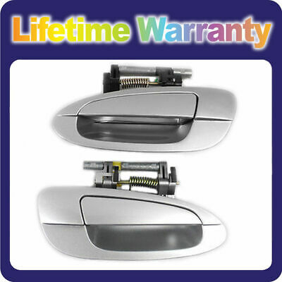 $39.41 • Buy DS339 MotorKing Door Handle For NISSAN ALTIMA Outside Rear Pair KY1 Sheer Silver