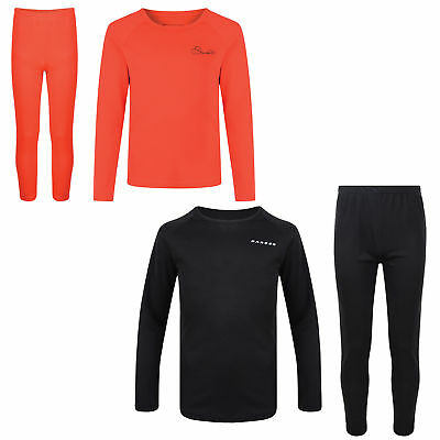Dare2b Cool Off III Kids Base Layer Set Thermal Top & Trousers Boys Girls • 9.95£