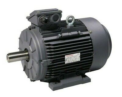 TEC 3-Phase Electric Motor 230/400V 50HZ Foot Flange Or Face Mount 0.37kw To 3kw • 102.54£