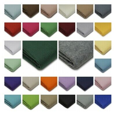 Quality Craft Felt Fabric Material - 100% Acrylic - 1.5mm Thick - 150cm Wide • 4.97£