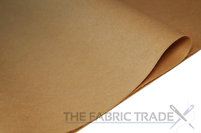 $11 • Buy Teddy Brown Craft Felt Fabric Material 100% Acrylic 1.5mm Thick 150cm Wide