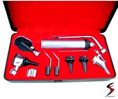 Medical Diagnositc ENT Kit Direct Otoscope And Ophthalmoscope Diagnosis Set SS • 18.66£