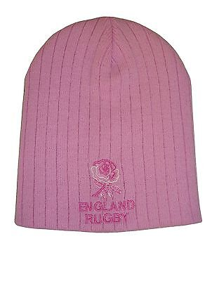 £7.99 • Buy England Rugby Pink Beanie Hat