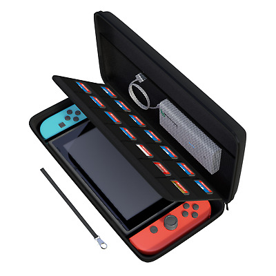 $9.49 • Buy Nintendo Switch Hard Carrying Case/Cover With 14 Cartridge Holders (Black)