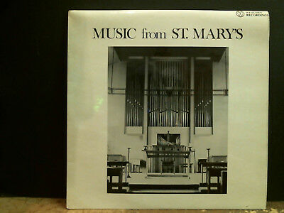 £18 • Buy MUSIC FROM ST. MARY'S  Woodford Parish Church Choir LP Choral Xian Private  EX !