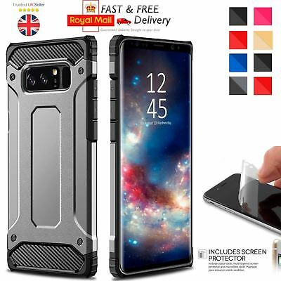 $ CDN6.73 • Buy Hybrid Armor Shockproof Rugged Bumper Case For Samsung Galaxy S7 Edge S8 Note S9