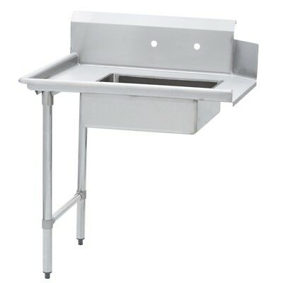 $547.59 • Buy Commercial Kitchen Stainless Steel Soiled Dish Table – Left Side – 30 X 60 G