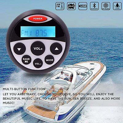 $64.49 • Buy Waterproof Bluetooth Stereo Marine Boat FM AM Radio Car Audio ATV UTV MP3 Player