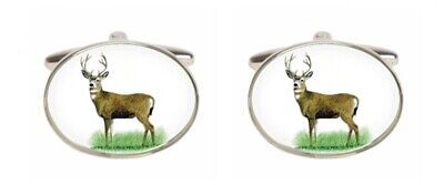 Novelty Stag Cufflinks • 39.99£