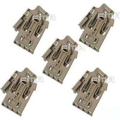$ CDN47.09 • Buy 5x FMA Safariland Quick Locking System Kit Holster QLS TB1042 DE