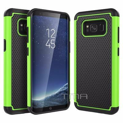 $ CDN6.79 • Buy Fits Samsung Galaxy S8 Case Shockproof Rugged Rubber Hybrid Impact Cover - Green