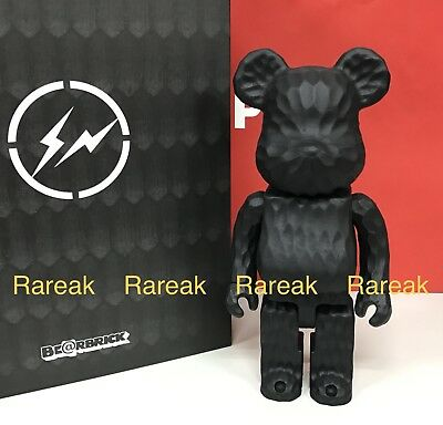 $4522.99 • Buy Medicom Be@rbrick Karimoku Fragment Design Carved Wood 400% Wooden Bearbrick