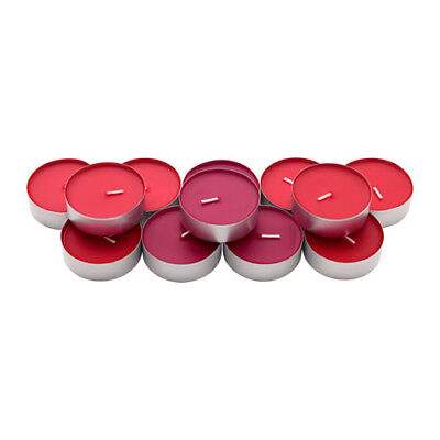 12 IKEA Sinnlig Scented Candles Tealight Large Coloured Tealights/ Unscented • 12.99£