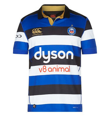 £19.99 • Buy 17/18 Bath Rugby Vapori Mens Home Pro Jersey Size S-3XL