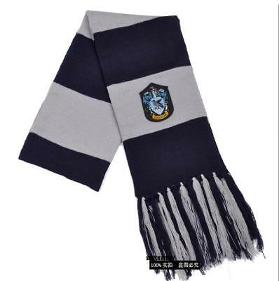 $ CDN16.38 • Buy NEW Harry Potter Ravenclaw Knit Shawl Wrap Winter Scarf Deathly Hallows Costume