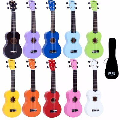 AU54.18 • Buy Mahalo Traditional Kids Soprano Ukulele Children Beginners + Case/Bag