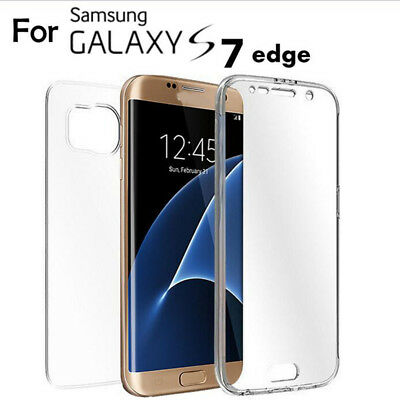 $ CDN3.93 • Buy For GALAXY S7 Edge Note 8 360 Degree Shockproof Full Body Silicone Case Covers