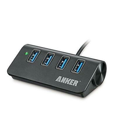 AU71.45 • Buy Anker USB 3.0 4-Port Portable Aluminum Hub With 2-Foot USB 3.0 Cable (Carbon)
