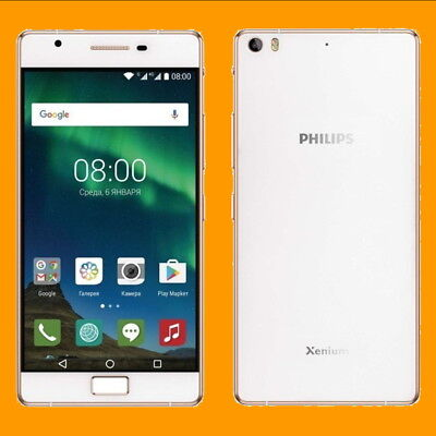 $249.99 • Buy Philips Xenium X818 3+32GB 16MP PDAF FM 5.5  Dual SIM Standby Android Smartphone