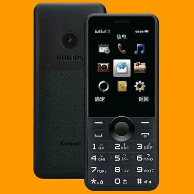 $129.99 • Buy Philips Xenium E168 0.3MP FM 58 Days Dual SIM Standby GSM 2G Quadband Cell Phone