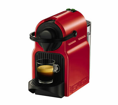 View Details NESPRESSO By Krups Inissia XN100540 Coffee Machine - Ruby Red - Currys • 59.99£
