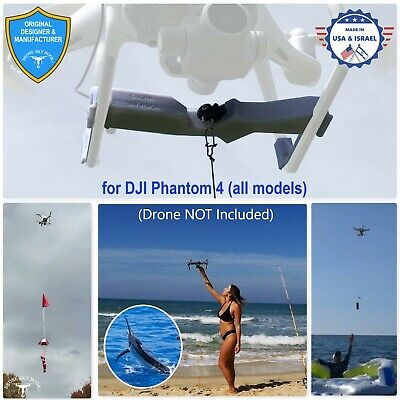 AU228.27 • Buy PROFESSIONAL Release Device , Drone Fishing , Payload Delivery For DJI Phantom 4