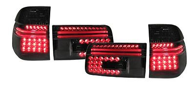 $346.50 • Buy Black Smoked LED Tail Lights Rear Lights For BMW E39 Touring Wagon 97-04