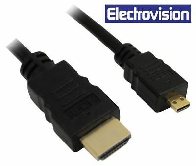 $5.20 • Buy Electrovision Micro HDMI To HDMI 1.4 (Lead Length (m) 1)